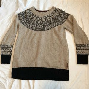 Roots Wool Knit Sweater